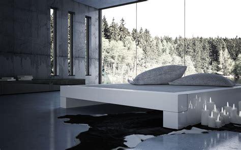 flaches bett 180x200 bett somnium minimalistisches design bett rechteck