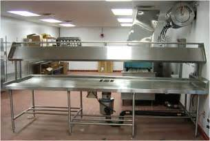 Commercial Kitchen Furniture by Custom Made Commercial Kitchen Fixtures Stainless Steel