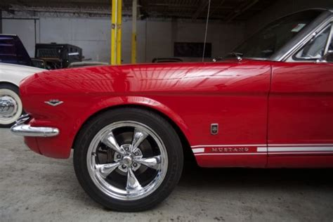auto upholstery st louis mo 1965 ford mustang gt convertible red exterior black