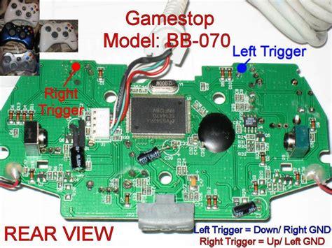xbox 360 wired controller wiring diagram xbox 360 wireless
