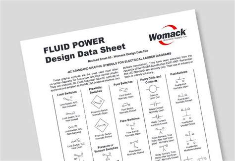 data sheets womack machine supply company