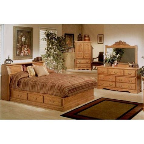 4 pc pier bookcase headboard bedroom set queen walmart com