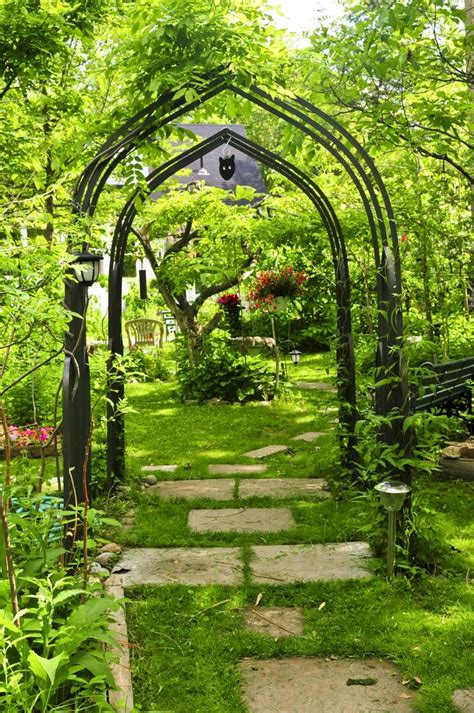 backyard arbor 25 charming garden trellises and arbors garden lovers club