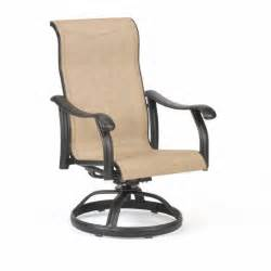 swivel outdoor chair venice die cast sling outdoor swivel rocker chair ca 5040