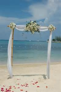 Beach Wedding Arch Magical Moment Weddings Adding A Wedding Arch