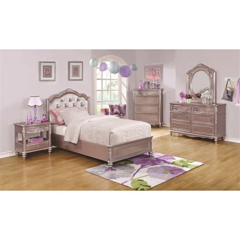 tufted storage bed coaster caroline 400891t twin size storage bed with