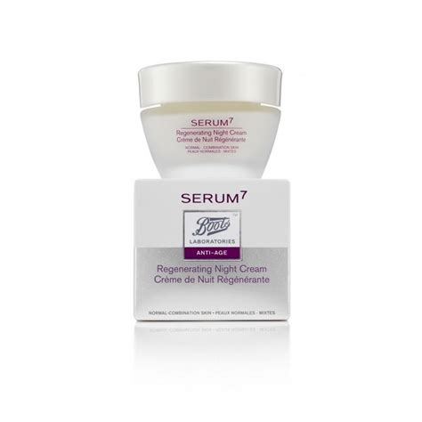 Serum Cr boots laboratories serum7 renew anti age crema