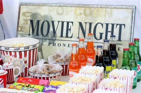 movie themed decorations home movie theme party at home