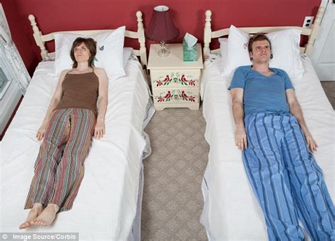 sleeping in separate beds one in six couples sleep in separate beds daily mail online