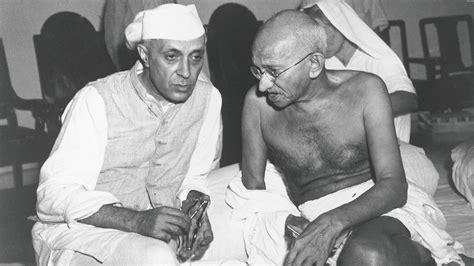 mahatma gandhi biography i love india nehru from hero to villain gq india get smart