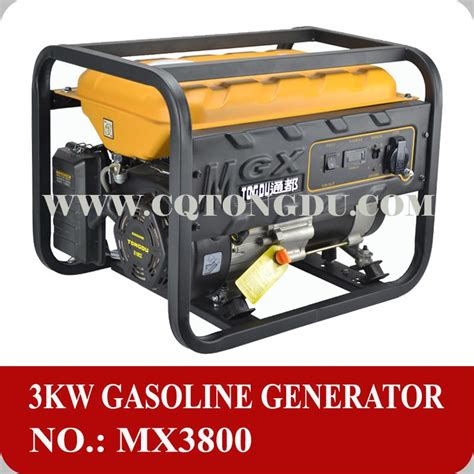 home use 3kva gasoline generator avr ac single phase 220v