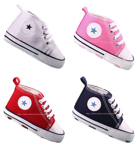 Crib Sneakers Baby Infant Toddler Baby Boy Soft Sole Crib Shoes Sneaker Newborn To 18 Months Ebay