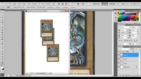 how to make yugioh cards at home tutorial make home made yu gi oh cards real etc