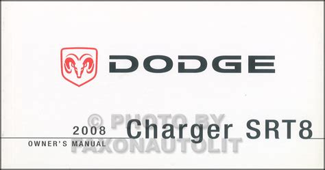 2008 Dodge Charger Owners Manual Pdf