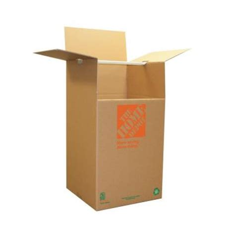 the home depot 65 lb wardrobe box 1001020 the home - Wardrobe Boxes Home Depot