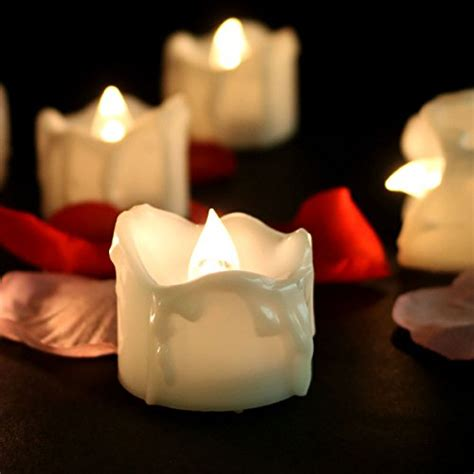 outdoor flameless tea lights with timer youngerbaby youngerbaby 12 pack led tea lights candles