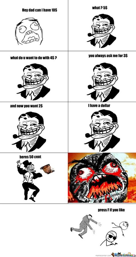 Troll Dad Memes - troll dad by outlaw meme center