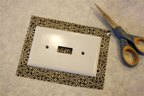 Decoupage Switch Plates - decoupage light switch plates tutorial jones design