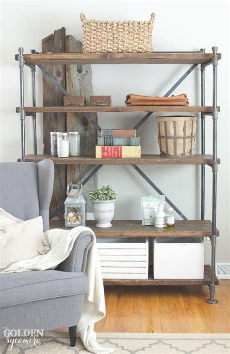 shelving ideas diy best 25 free standing shelves ideas on