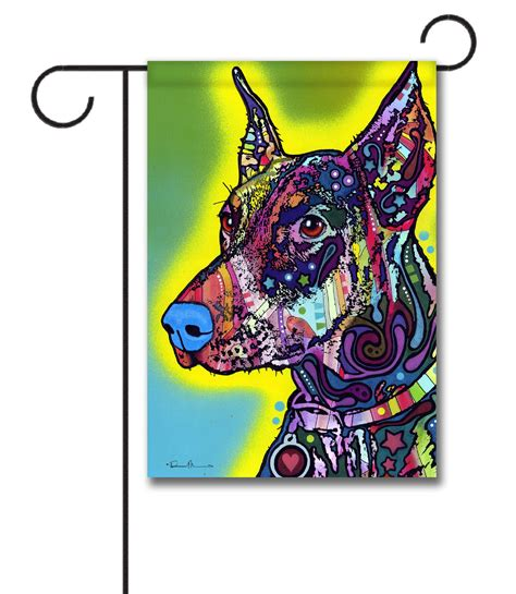 decorative flags for the home doberman garden flag 12 5 x 18 gateway lane