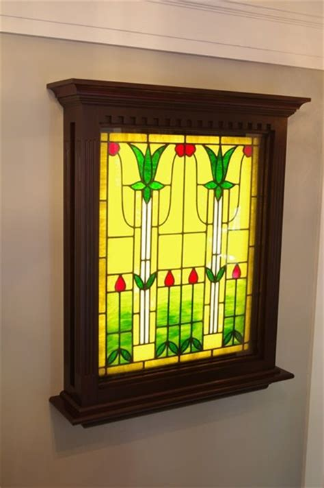 stained glass window light box pin by kara jade on house