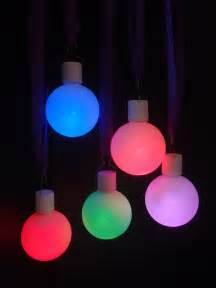 color changing leds led color changing ornament light 5 pack