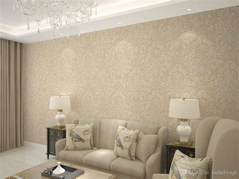 Design Your Bedroom Online gold color europe damask wallpaper roll 3d wallpaper for
