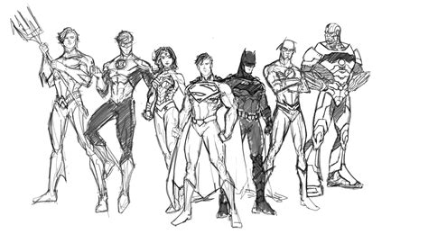 coloring pages of justice league dc comic movie superhero justice league coloring pages