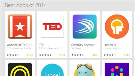 best app android 2014 shares its list of best apps of 2014 android