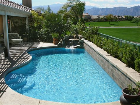 Pictures Of Backyards With Pools Small Backyard No Problem Wallace Watershapes