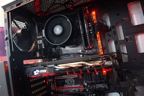 Pc Gaming Rakitan Ryzen 5 1500x this ryzen 5 1500x all amd pc brings compelling 8 thread gaming to the masses idg connect