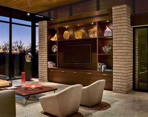 simple  sleek built  unit   hall interior