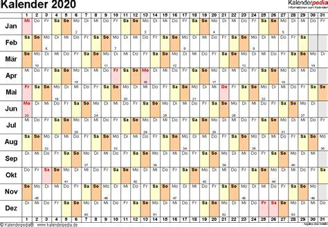 kalender  zum ausdrucken  excel  vorlagen kostenlos