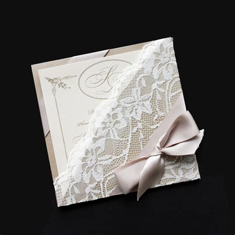 Handcrafted Invitations - rustic vintage style wedding invitations astijano