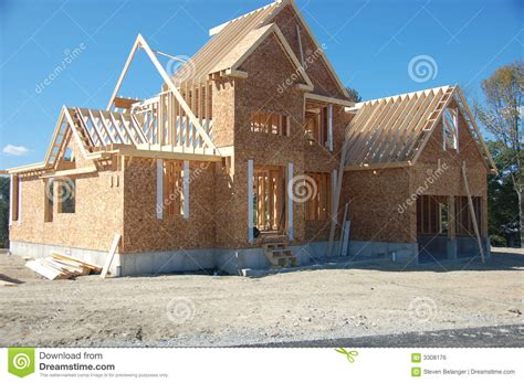 house construction royalty free stock images image 2957369 new house under construction royalty free stock image