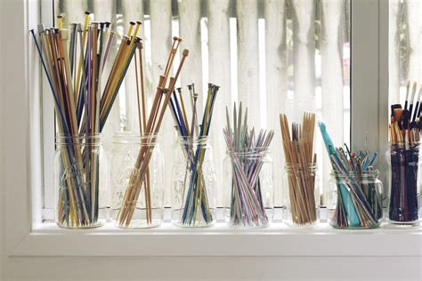 how to organize knitting needles best ideals for yarn and knitting supply storage oh you