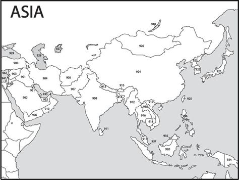 printable world map asia asia map labeled worksheet asia get free image about