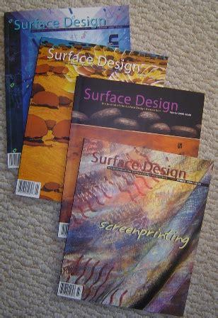 Surface Design Journal Back Issues | journals art journal a creative journey
