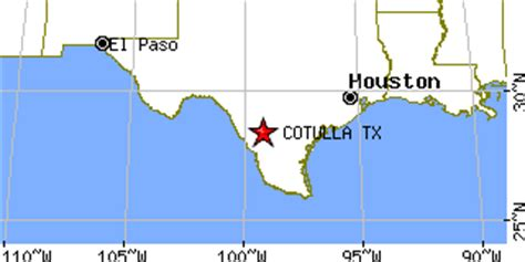 cotulla texas map cotulla texas tx population data races housing economy