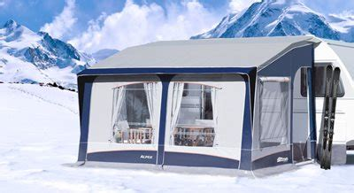 Black Country Awnings by Inaca Alpes 380 Caravan Porch Awning For Sale