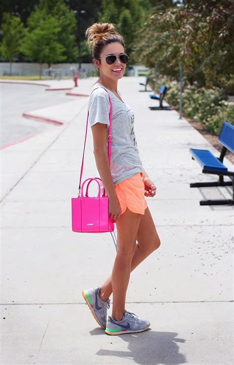 what to wear with sport shoes shorts styles for summer months 2018 fashiongum