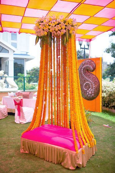 colour themes for mehndi simple and lively decoration ideas for haldi mehendi