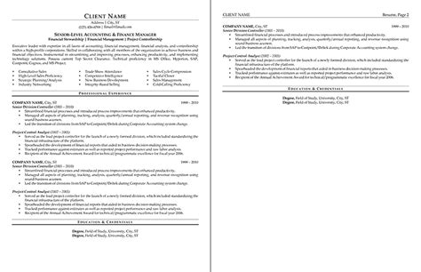 Big W Resume by Sle Resume Professional Formats