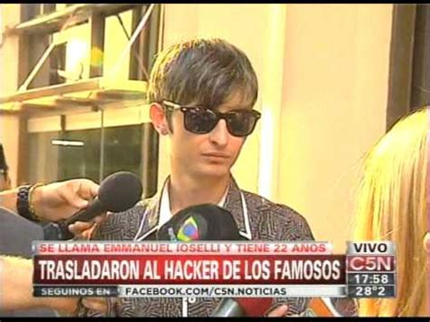 fotos y videos de camus hacker c5n policiales trasladaron al hacker de los famosos
