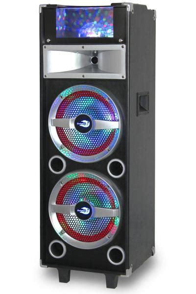 Party Speakers with Lights & Bluetooth