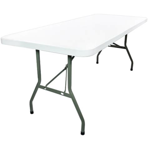 6 Foot Plastic Table by Plastic Folding Tables 6 Foot Folding Table