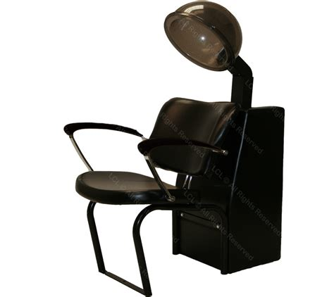 hooded air condition hair dryer black wood arm chair salon equipment ebay