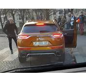 New DS7 Crossback Mid Size SUV Captured Undisguised Photos