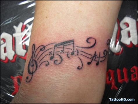 music staff tattoo designs staff designs musictattoo018