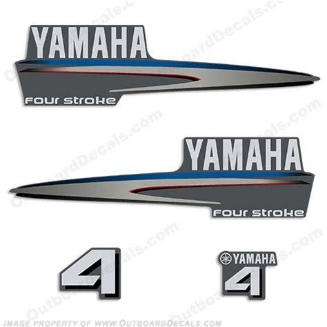 Yamaha 4hp Sticker yamaha decals